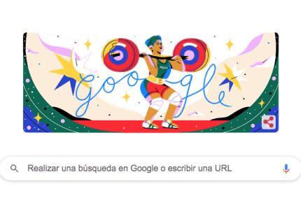 Google le rinde homenaje a Soraya Jiménez