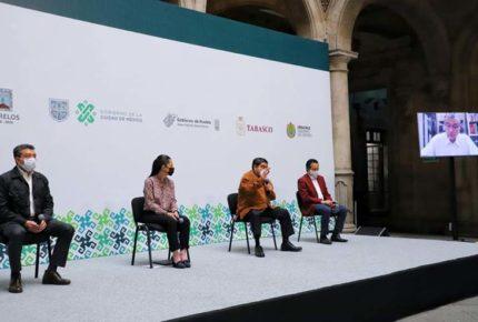 Gobernadores de Morena se adhieren a Acuerdo democrático