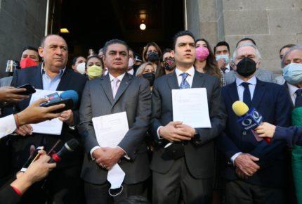 'Va por México' impugna Ley de Revocación de Mandato ante la SCJN
